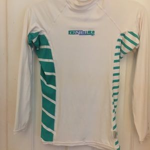 O'Neill Long Sleeve Rashguard- jrs Medium